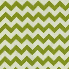 6.99/yard  Dear Stella House Designer - Afterglow - Afterglow Chevron in Green