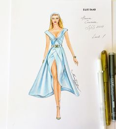 Discover recipes, home ideas, style inspiration and other ideas to try. Love Fashion, Trendy Fashion, Fashion Art, Fashion Design Drawings, Fashion Sketches, Fashion Illustrations, Elie Saab, Wedding Dress Sketches, Fashion Drawing Dresses