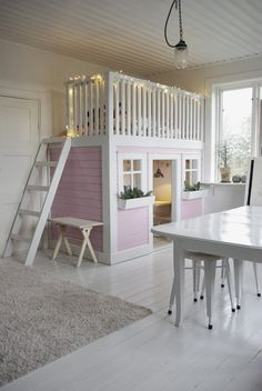 Miss Bud: Playroom ...Oh my word! I want to be a kid again so I can have one of these!