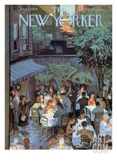 The New Yorker Cover - August 2, 1958 Regular Giclee Print by Arthur Getz at Art.com