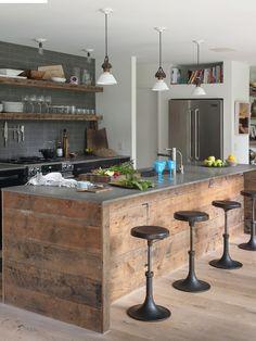 76 mejores imágenes de Islas de cocinas | Diy ideas for home, Home ...