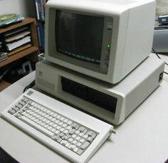 IBM PC XT Model 5160 Dos Computer.