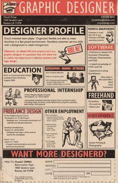 見ているだけで楽しい!優れたデザインのインフォグラフィック履歴書10選!