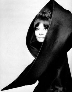 Audrey Hepburn in Valentino. Vogue Italia, 1969
