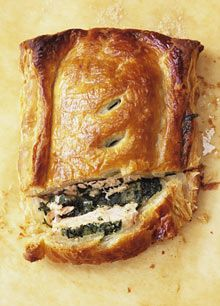 Nigel Slater's five ways with salmon Salmon In Pastry Recipe, Salmon In Puff Pastry, Puff Pastry Recipes, Salmon Pie, Salmon Dishes, Fish Dishes, Salmon Food, Healthy Salmon Recipes, Fish Recipes