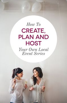 How To Start A Blogging Meetup or Networking Event - If you want to start your own local event, you don't need to start from scratch - click through to see how!