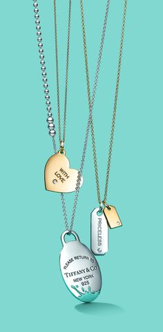 A Tiffany gift says a thousand words. Tiffany Charms and Return to Tiffany® pendants.