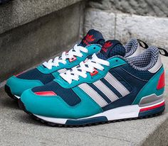brand new 0eecf 46d4f adidas Originals ZX 700 W - Deep Petrol  Chrome - St Deel