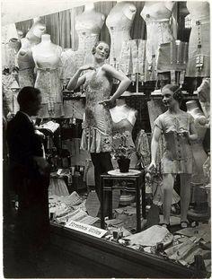 Window shopping in Paris…Corsets  c.1920's