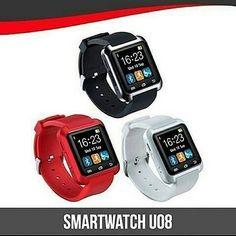"""SmartWatch U8 Spesifikasi : Layar sentuh 148"""" Multi bahasa Teknologi layar sentuh Untuk Android dan ios Strap silikon  smartwatch U8 adalah smartwatch bluetooth yang membuat menghubungkan ponsel Android dan ios anda yang secara mudah mengakses -panggilan telepon -Phonebook -sms -pedometer -pemutaran musik -alarm -kalender -stopwatch -dsb  Harga 160.000 . Order: Line @ jakartakomputer  Whatsapp : 087878775832  BBM : 5B04D5D6  #smartwatchu8 #smartwatch #smartwatches #smartwatchu8 #jktkom…"""