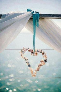 Hearts ~ Make with collected beach shells