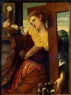 Allegory of Faith by Moretto da Brescia. Some knew it even in 16th century.