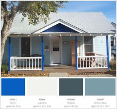 Are you looking for a color schemes for your newly constructed home? Get ready, Here are some inspirational home exterior color combination that blow your mind. Exterior Color Combinations, Color Schemes, Exterior House Colors, Home Goods, Construction, Outdoor Decor, Inspiration, Design, Home Decor