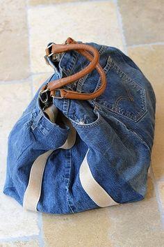 Boutique Avant Après ~ Denim Bag
