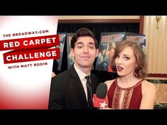 RED CARPET CHALLENGE: BANDSTAND with Laura Osnes, Corey Cott, Bernadette Peters and more! - YouTube
