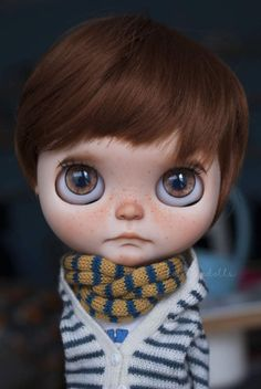 Elliot - Custom Blythe doll BOY by Tolé Tolé Dolls