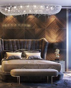 Modern Luxury Bedroom, Luxury Bedroom Design, Master Bedroom Interior, Master Bedroom Design, Contemporary Bedroom, Luxurious Bedrooms, Home Decor Bedroom, Diy Bedroom, Luxury Homes Interior