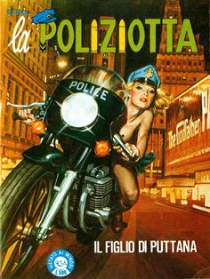 Emanuele Taglietti Fan Club: la Poliziotta