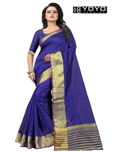 e26a197bcbc48 Designer Blue Kota Dhupian Fancy Party Wear Saree By