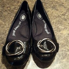 Shoes New-black with buckle slip on Dr. Scholls Shoes Flats & Loafers