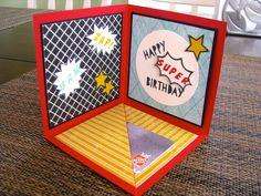 @: Corner Pop-up Birthday Card...recipe here