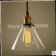 48.50$  Buy now - http://alijxo.worldwells.pw/go.php?t=2048740812 - American Country Retro Industrial Loft Creative Bar Single-head Glass Chandelier Cafe Clothing Store Fixtures Designer Light 48.50$