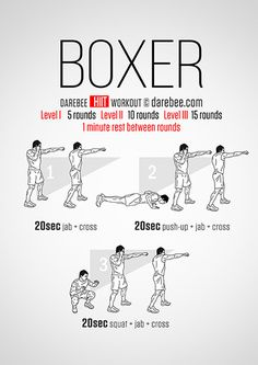 Boxer HIIT Workout split em up, tamara or add other drills in btw them. Boxing Training Workout, Home Boxing Workout, Boxer Training, 100 Workout, Kickboxing Workout, At Home Workouts, Cardio Boxing, Body Workouts, Boxing Techniques