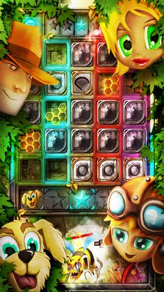 Crushing of candies was so yesterday. Today you crush your enemies! Jungle Crush mobile game now available on iOS
