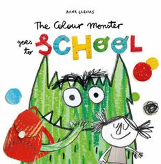 Anna Llenas's popular Colour Monster is back, and this time he's heading off to school! But what exactly is school? Pop Up, Movie Inside Out, Monster Go, Monster Party, Kindergarten, Different Emotions, Penguin Books, Make New Friends, Music Lessons