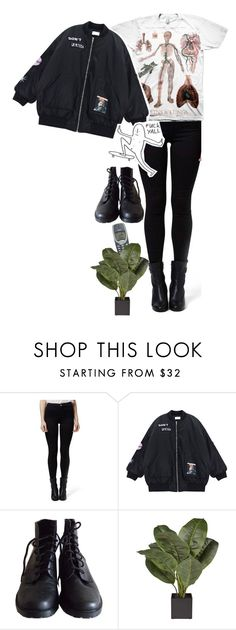 """""""space is just a word made up by someone who's afraid to get to close"""" by caro-medi-romero ❤ liked on Polyvore featuring Topshop and Chicnova Fashion"""