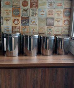 potes herméticos de inox - cozinha brinox