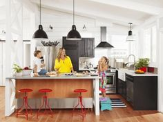 The kitchen design experts at HGTV.com share 20 hard-working and stylish kitchen islands.