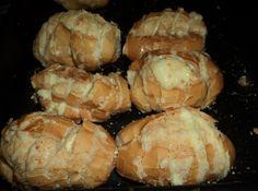 Pão francês com creme de alho