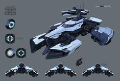 ArapahoConcept 09 13 SD by LyssonAn on DeviantArt Space Ship Concept Art, Robot Concept Art, Concept Ships, Armor Concept, Weapon Concept Art, Spaceship Art, Spaceship Design, Army Vehicles, Armored Vehicles