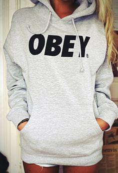 Repin: wishing for an obey sweatshirt