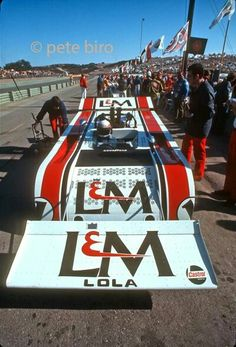 JYS Lola T260 Can Am 1971 *** Photo credit to Pete Biro ***