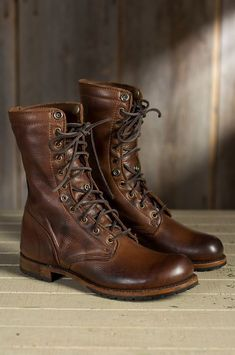 Details about Handmade Mens brown Military boots, Men brown high ankle combat boots, Men boots Handmade Men brown Military boots, Men brown high ankle combat boots, Men boots Winter Work Shoes, Ankle Combat Boots, Calf Boots, Combat Rock, Mens Winter Boots, Men Boots, Shoes Men, Casual Boots For Men, Men's Shoes