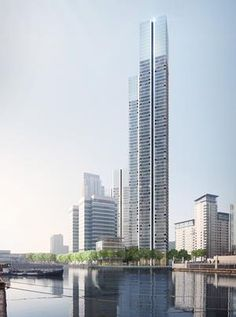 Foster & Partners' 73-storey Docklands tower in for planning | News | Building Design