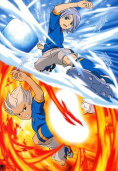 Crossfire duo - Gouenji Shuuya x Fubuki Shirou