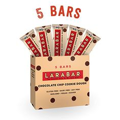 Larabar Gluten Free Bar Chocolate Chip Cookie Dough 16 oz Bars 5 Count *** For more information, visit image link. (Note:Amazon affiliate link)