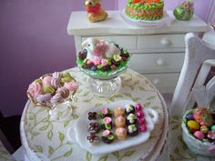 minis make me happy: My easter sweet shop