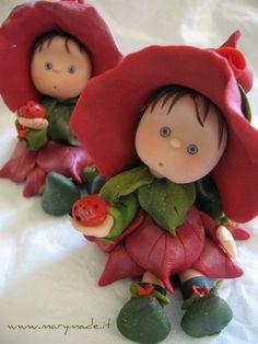 Polymer clay Flower Fairy | Flickr