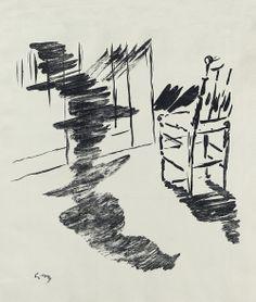 Arte | Tumblr   Ilustraciones para el de Edgar Allan Poe  El cuervo por  Edouard Manet