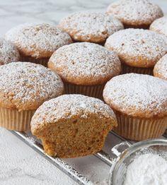 morotsmuffins6 Swedish Cookies, Baking Recipes, Cake Recipes, Lollipop Candy, Candy Cookies, Swedish Recipes, Fika, Food Cakes, Something Sweet