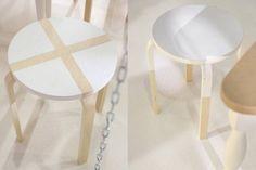 IKEA Hacking: idee per personalizzare lo sgabello Frosta - Magazine - Tempo Libero - quotidiano.net