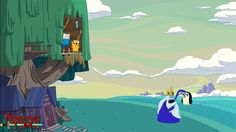 Adventure Time - No Gunther - Wallpaper by sebastiancooper
