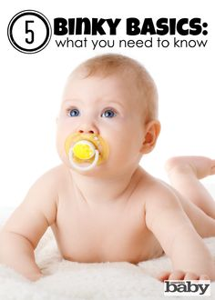 Everyone seems to have an opinion about pacifiers, but the latest research sets the record straight. (via Parents.com) #pacifier #binky