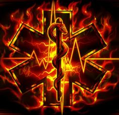 EMT flames ~ if i could get the Maltese Cross in there, I would be happy w/ ink like this! Emergency Medical Technician, Emergency Medical Services, Paramedic Quotes, Paramedic Tattoo, Tattoo For Baby Girl, Tattoo Baby, Firefighter Paramedic, Firefighter Tattoos, Tactical Medic