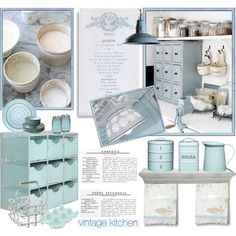 French Vintage Kitchen, created by anna-anica on Polyvore