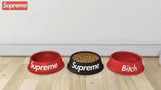 "Supreme Dog Bowl ( Updated - Fully Functional Now ) • Food ""Animation"" working perfectly like EA's bowl • 10 Swatches • 1700 Polygons Download: [M]"